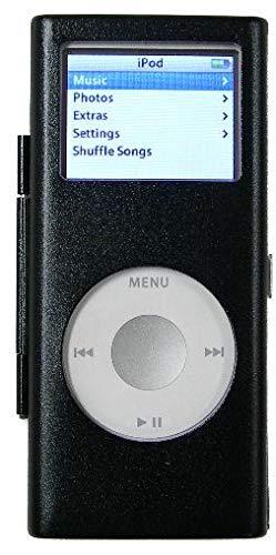 HD Accessory Aluminum Armor Shield Case for 2nd Generation iPod Nano - Black