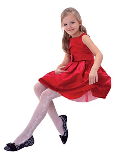 Price comparison product image Lovely Patterned Girl's Tights Jasmina by Knittex