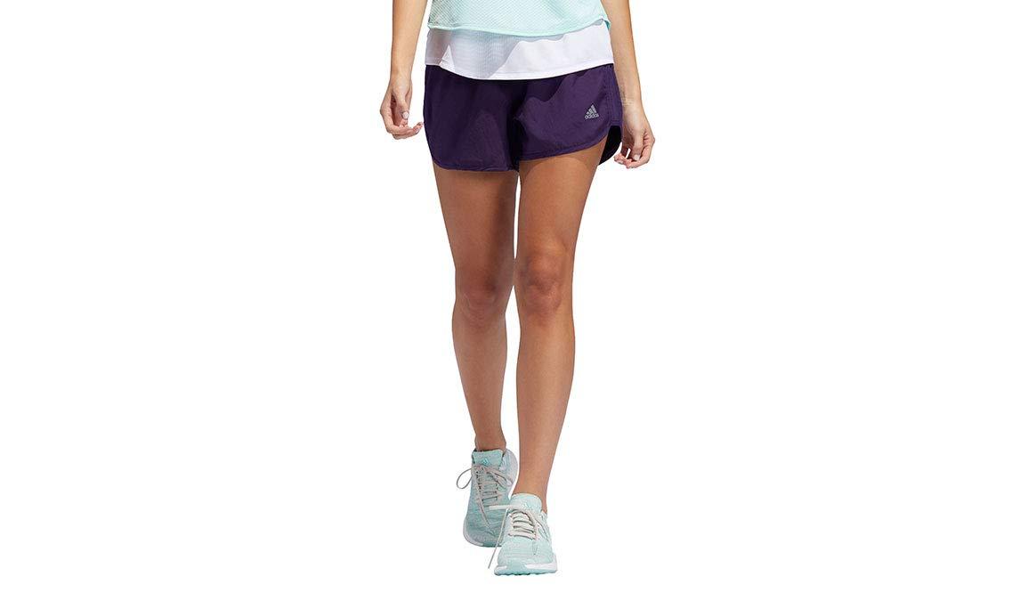 adidas Women's 4'' Marathon 20 Shorts - Color: Legend Purple Size: XS