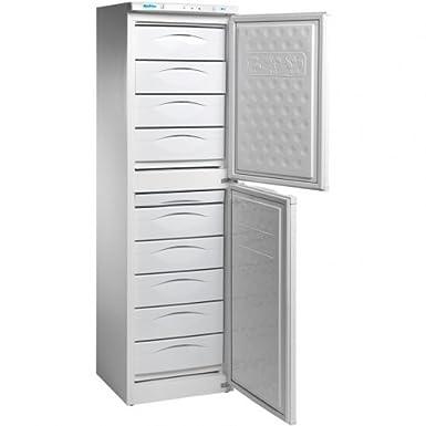 Congelador vertical profesional (197L), con cajones: Amazon.es ...