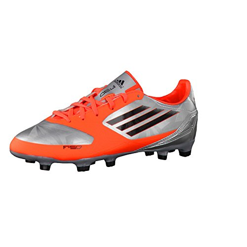 Adidas Fussballschuhe F30 TRX FG J 38 2/3 metallic silver/infrared/black