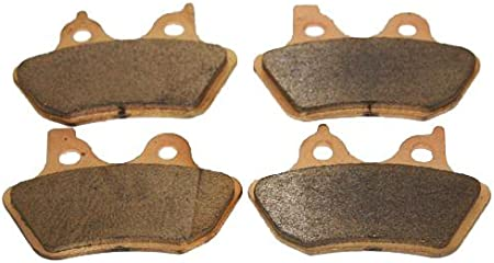 Front Organic NAO Brake Pads For 2006-2007 Harley FXDi Dyna Super Glide
