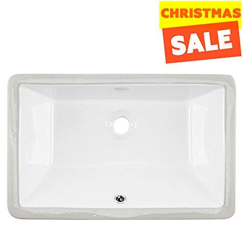 Ceramic Undermount Vanity Sink - 3