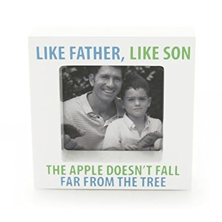 Like Father Like Son Photo Frame Our Name Is Mud By Lorrie Veasey