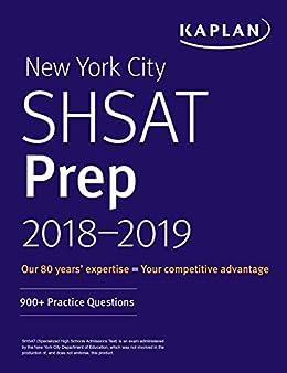 New york city shsat prep 2018 2019 900 practice questions kaplan new york city shsat prep 2018 2019 900 practice questions kaplan test fandeluxe Choice Image