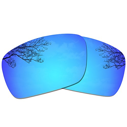 Dynamix Polarized Replacement Lenses for Oakley Fuel Cell - Multiple - Replacement Iridium Ice Lenses