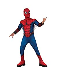 Rubie's Costume 630731_L Spider-Man Homecoming Deluxe Muscle Chest Costume, Large, Multicolor