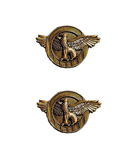 Set Of 2 Deluxe Ruptured Duck Honorable Discharge Lapel Hat Pin Marines Army Navy Air Force 7526