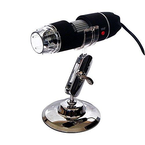 Dland Tragbare 50x-500x Vergrößerung 8-LED USB Digital Mikroskop Endoskop mit Ständer für Bildung Industrie Biological Inspection
