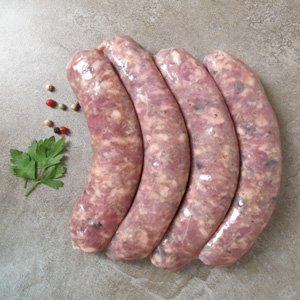 Duck Salami - Duck w/Figs Sausage Frozen - 1 lb (Pack of 10)