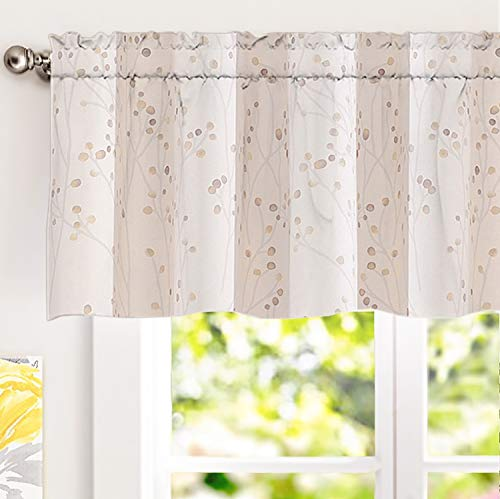DriftAway Harper Ink Floral Pattern Window Treatment for sale  Delivered anywhere in USA