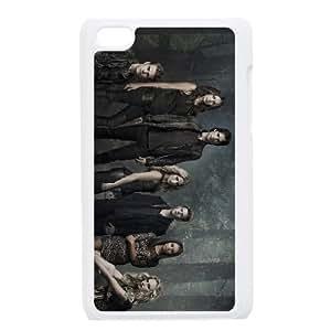 The Vampire Diaries funda iPod Touch 4 caja funda del teléfono celular blanco cubierta de la caja funda EEECBCAAJ07331