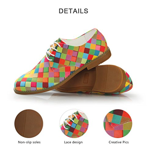 Oxford Toe Plain Colorful IDEA HUGS Shoe Mens Dress 3 Fashion colorful YxXBx1qF