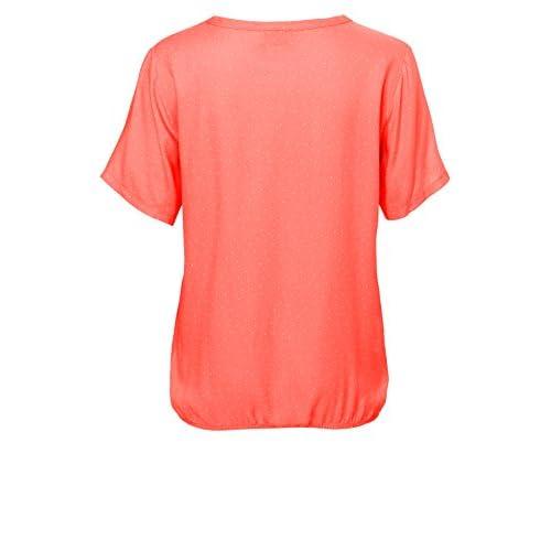 VIA APPIA Damen Casual Basic-Shirt mit Gummibund NEU