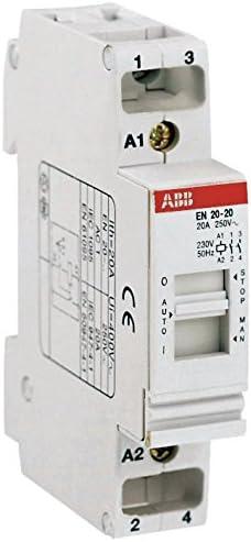 Abb Abb026506 Contacteur Journuit 20 Ampères Gris
