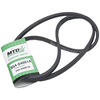 MTD 954-04001A Replacement Belt 5/8-Inch by 69-Inch