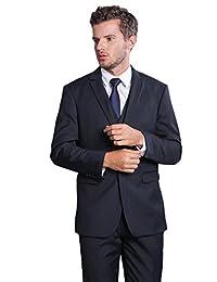 DOUGLAS&GRAHAME Men's Solid Suit Separate Jacket 2017 Fashion Blazer Outerwear