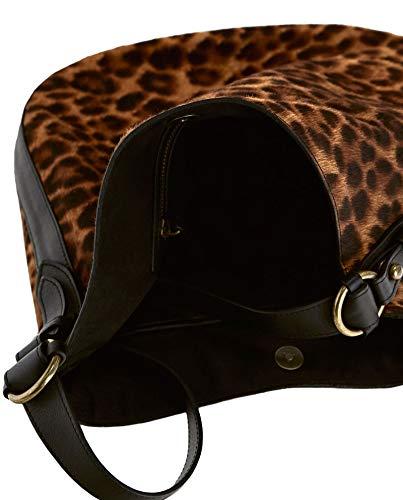 Leopardata 659 Dutti Donna 6900 In Con medium Borsa Pelle Stampa Massimo HUq7OwO