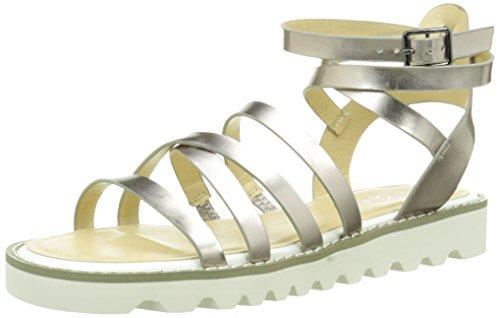 Another Pair of Shoes Sarak2 - Sandalias Mujer Plateado (Pewter 102)