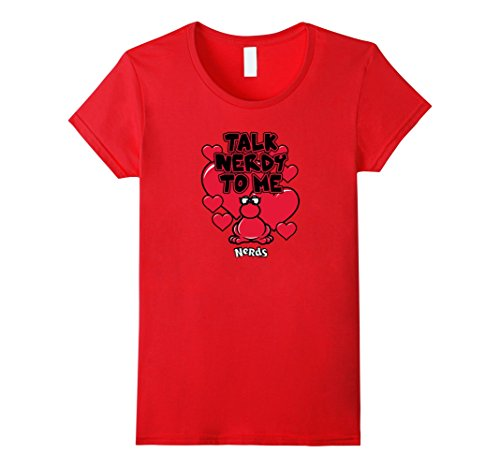 "Women's Nerds Candy ""Talk Nerdy to Me"" T-Shirt 