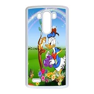 LG G3 Phone Case White Donald Duck WQ5RT7510857