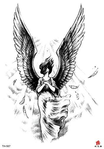 Angel Wing Girl Halloween Large 8.25