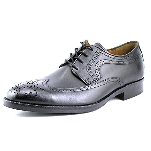 johnston-murphy-mens-beckwith-wing-tip-oxford-black-11-m-us