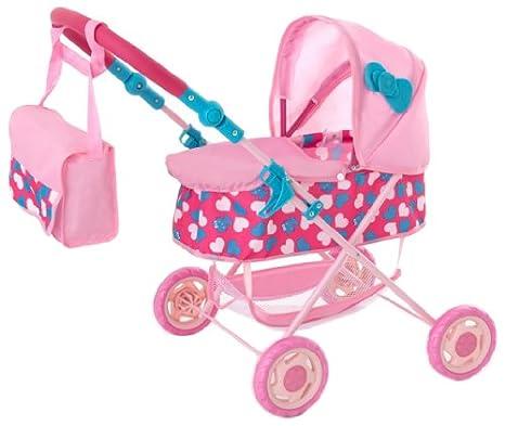 Amazon.es: Hello Kitty 1422946 - Carrito para bebé de juguete, color rosa: Juguetes y juegos