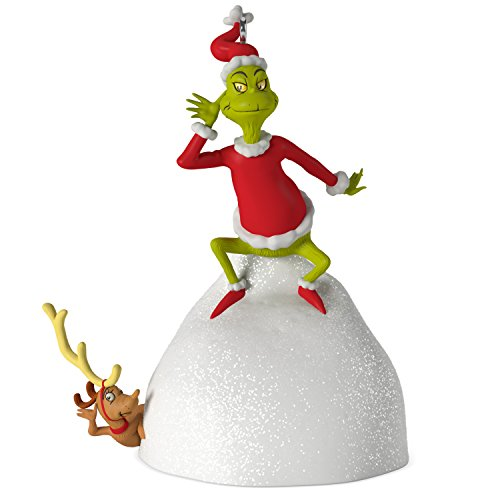Hallmark Keepsake 2017 Dr. Seuss's How the Grinch Stole Christmas! Welcome Christmas Musical Christmas Ornament ()