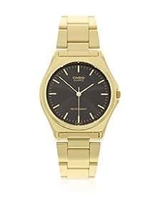 Casio MTP-1130N-1A - Reloj analógico de cuarzo para hombre, correa de acero inoxidable color dorado