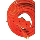 Woods Wire - Power Blocks 100' 12/3 Orange Power Block (0820): 860-8820 - 100' 12/3 orange power block (0820)