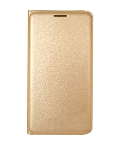 COVERNEW Flip Cover for Samsung Galaxy J5  2016    Golden