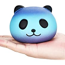 Toys, Auwer 10CM Panda Cream Scented Squishy Slow Rising Squeeze Kid Toy Phone Charm Gift