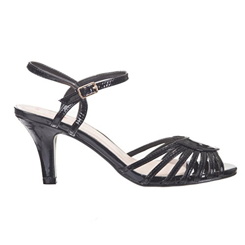 Banned Dancing Days by Women Ankle Strap Sandals u71oW5EIF