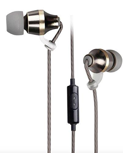 85d29d5bd38 astrum EB400 Metal Stereo Earphones with In-line Mic (Black): Buy ...