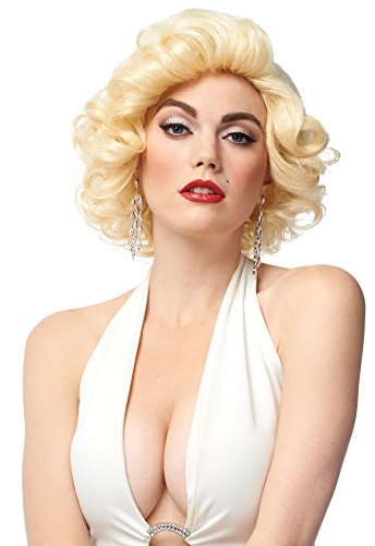 Costume Culture Women's Blonde Bombshell Wig, One -