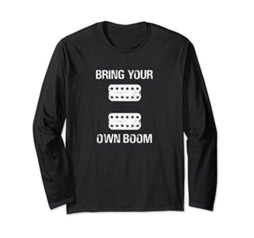 BYOB Active Passive Humbuckers Pickups Lead Rhythm Shirt (Humbucker Rhythm)