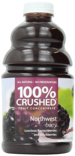 - Dr. Smoothie 100% Crushed Fruit Smoothie, NorthWest Berry, 46 Ounce Bottle