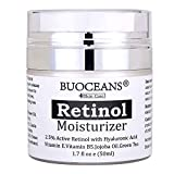 Retinol cream, Retinol Moisturizer Cream for face - With Retinol, Hyaluronic Acid, vitamin E and Green Tea, for Anti Aging, Wrinkles, Fine Lines, Acne, Redness, Best Day and Night Cream.1.7 Oz