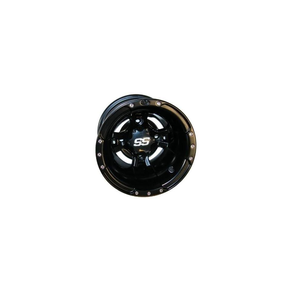 ITP SS112 Sport Wheel 10x8 3+5 Offset 4/115 Black Black 10SB13BX