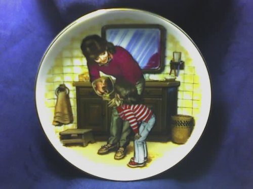 Avon Collectible - Mother's Day Plate: A New Tooth (1986) (with (Avon Collectables)