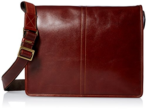 Visconti Vintage-7 Veg Tan Brown Soft Leather Messenger Bag Case, Brown, One Size by Visconti