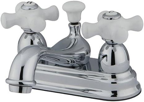 Kingston Brass CC19L5 Vintage 4-Inch Centerset Lavatory Faucet Oil Rubbed Bronze