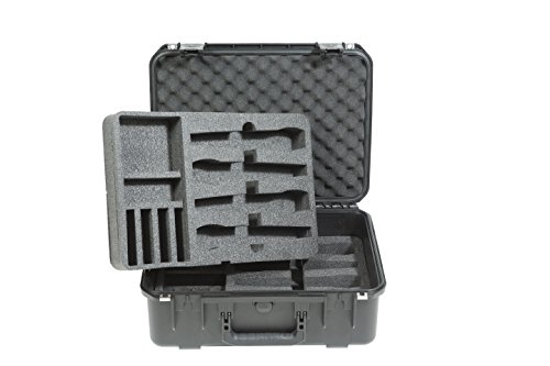 SKB 3i-1813-7WMC Stage & Studio Equipment Case for Wireless Mic Systems by SKB