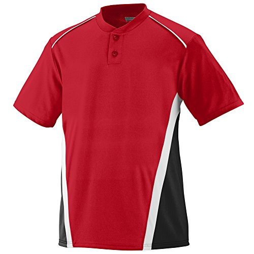 Augusta Sportswear Men's RBI Baseball Jersey S Red/Black/White