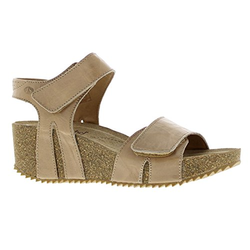 Josef Seibel Womens Meike 11 Leather Sandals Sand