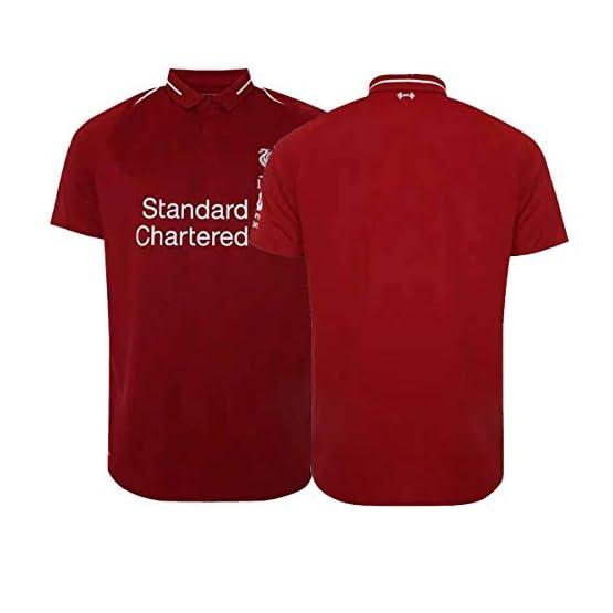 ERICK Liverpool Home T-Shirt Homme Maillot & Enfants Soccer Jersey Rouge