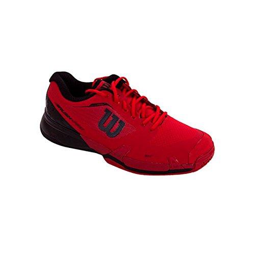 Wilson Wrs322180e095, Scarpe da Tennis Uomo, Rosso (Rojo High Risk Red / Black / Barbados Cherry), 44 EU