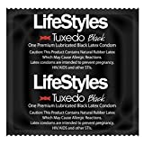 Ansell 6200 Condoms, Lubricated, Tuxedo (Pack of 1000)