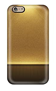 Brand New 6 Defender Case For Iphone (gold)(3D PC Soft Case)
